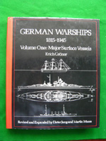 German Warships Volume 1 Major Surface Vessels