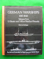 German Warships Volume 2 U-Boats and Mine Warfare Vessels
